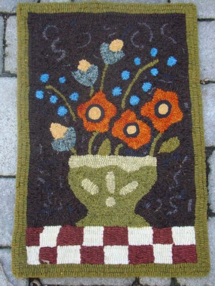 Ewe And Eye Woolens And Such Rug Hooking Floral Designs